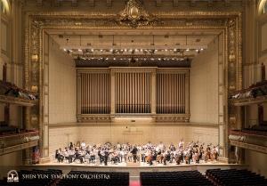 1900年の完成以来、世界屈指のコンサートホールとされるボストン・シンフォニーホール。