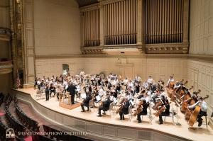 ボストン・シンフォニーホールの最大の特徴とされるエオリアン・スキナー・オルガン。1949年に設置され、コンサートホールのパイプオルガンでは世界有数とされる。