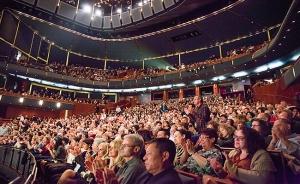 Wystąpiliśmy w wypełnionej tłumami widzów, wyprzedanej do ostatniego miejsca Opera House of Tel Aviv Performing Arts Center.