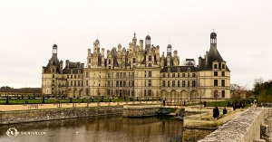 Zobaczyliśmy również dobrze rozpoznawalny francuski zamek w Chambord, Loir-et-Cher. (tancerz Felix Sun)