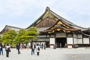 京都の二条城にも立ち寄る(撮影:アンドリュー・ファン)
