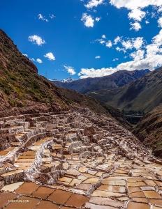 Они также отправляются на экскурсию к Салинас-де-Марас. Эти древние соляные копи, вырытые на склоне Андских гор, представляют собой невероятное зрелище.