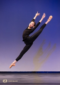 Firebird Jump by junior female division gold award co-winner Nara Cho.