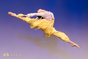Adult female division gold award co-winner Michelle Lian soars in her self-selected piece <em>April</em>.