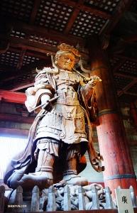 Комокутен, Владыка Запада – один из четырёх Небесных хранителей Четырёх направлений. (Автор фото: Джек Хань)