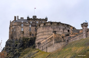 A visit to Edinburgh would not be complete without seeing the historic fortress that sits above the rest of the city—Edinburgh Castle. (Photo by Andrew Fung)