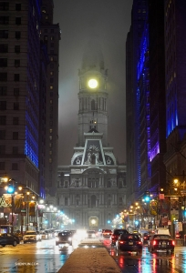 Philadelphia City Hall. (Photo by dancer Daniel Jiang)