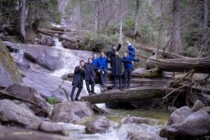 <p>이곳은 섀넌 폭포 주립공원. 브리티시컬럼비아 주에서 세 번째로 높은 폭포가 있다.</p>