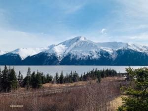 <p>L'Alaska est un endroit pittoresque. Cette photo de montagne alpine est digne d'un fond d'écran ! (Photo de Nancy Wang)</p>