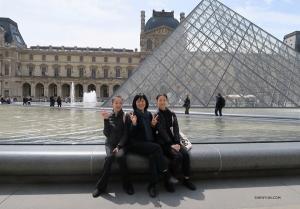 Będąc w Paryżu oczywiście trzeba odwiedzić Louvre. (Angelia Wang)