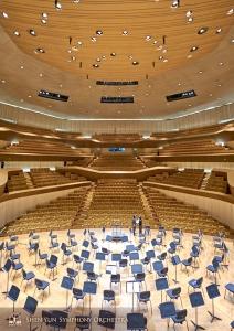 A Orquestra retornou a Kaohsiung para sua terceira parada, desta vez no National Kaohsiung Center for the Arts.