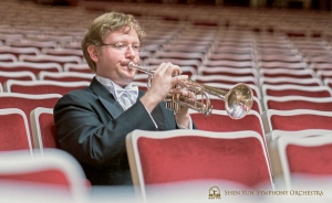 Trumpeter Jimmy Geiger warms up the hall in the heart of the capital.