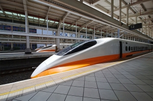 일본에서 도입한 타이완 고속철도.