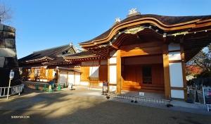 Het Hommaru kasteel van Nagoya werd meer dan 400 jaar geleden gebouwd, ten tijde van de Samoerai oorlogen. Het gebouw is een voorbeeld van de mooiste, bekende architectuur in Samoerai stijl.  (Foto door Jevgeniy Reznik)