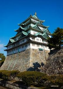 Dancer Felix Sun captures the magnificent Nagoya Castle.